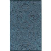Surya Tulemola Teal/Charcoal Area Rug; 8' x 10'