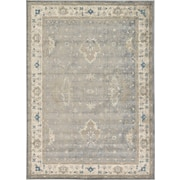 Unique Loom Salzburg Gray Area Rug; 7' x 10'