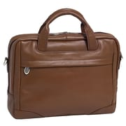 McKlein USA S Series Montclare Leather Laptop Briefcase; Brown