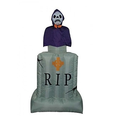BZB Goods Halloween Inflatable Animated Tombstone Decoration