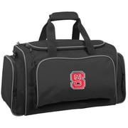 Wally Bags NCAA Collegiate 21'' Gym Duffel; NC State