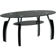 Hodedah Coffee Table; Black