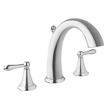 Virtu Alexis Double Handle Widespread Faucet; Polished Chrome