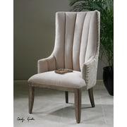 Uttermost Zyla Chenille Arm Chair