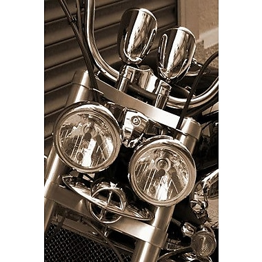 iCanvas Photography Harley Motorcycle Photographic Print on Canvas; 18'' H x 12'' W x 1.5'' D