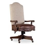 Hooker Furniture Adagio Leather Tilt Swivel Chair