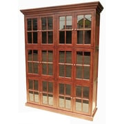 D-Art Collection Library 84'' Standard Bookcase
