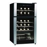 Koolatron Koolatron 29 Bottle Dual Zone Freestanding Wine Refrigerator
