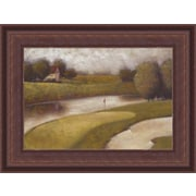 HadleyHouseCo Sand Trap I Framed Painting Print