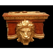 Hickory Manor House Free Standing Lion Freestanding Toilet Paper Holder