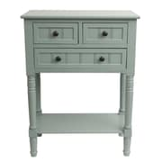 J. Hunt Home Simplify Console Table; Antique Iced Blue