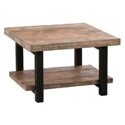 Alaterre Pomona 27'' Reclaimed Wood Square Coffee Table