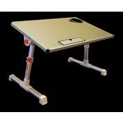 Stand Steady Traveler Folding Laptop Stand; Silver