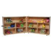 Wood Designs Versatile Folding Storage Unit