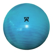 Cando Deluxe Extra Thick Inflatable Exercise Ball (Retail Box); 34'' / Blue