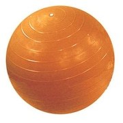 Cando Inflatable Exercise Ball; 47'' / Orange