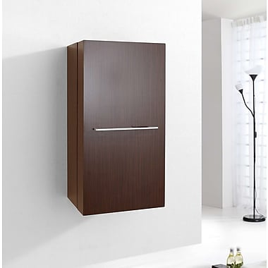 Virtu Carvell 31.5'' x 15.7'' Wall Mounted Cabinet; Walnut
