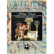 Speedball Mona Lisa Variegated Metal Leaf Sheets (Set of 6); Blue