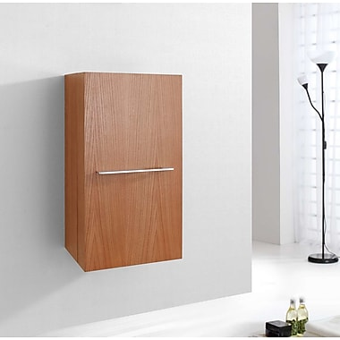 Virtu Carvell 31.5'' x 15.7'' Wall Mounted Cabinet; Chestnut