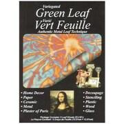 Speedball Mona Lisa Variegated Metal Leaf Sheets (Set of 6); Green