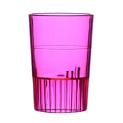 Fineline Settings, Inc Quenchers Disposable Plastic 1.5 oz. Neon Shooter (500/Case); Red