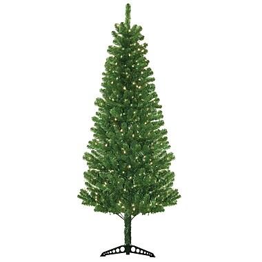 General Foam Plastics Morrison 7' Green Artificial Christmas Tree w/ 300 Clear Lights