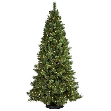 General Foam Plastics 7' Sheridan Pine Christmas Tree w/ 350 Clear Lights
