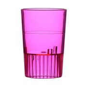 Fineline Settings, Inc Quenchers Disposable Plastic 1 oz. Neon Shooter (500/Case); Red