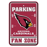 JTD Enterprises NFL Parking Sign; Arizona Cardinals