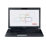 "Refurbished Toshiba R940-04J 14"" LCD Intel Core i5-3340M 320GB 8GB Microsoft Windows 7 Professional Laptop Black"