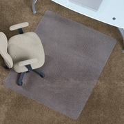 ES Robbins Anchormat Low Pile Carpet Beveled Edge Chair Mat; 36'' x 48''