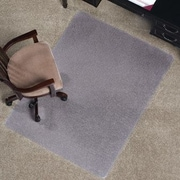 ES Robbins Anchormat Medium Pile Carpet Beveled Edge Chair Mat; 36'' x 48''