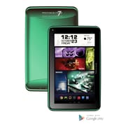 "Visual Land Prestige ELITE 7Q-KC - 7"" Quad Core 8GB Android Tablet, Green"