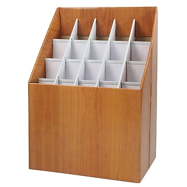 Adir Corp Upright Roll File Filing Box