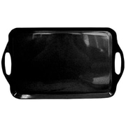 Reston Lloyd Calypso Basics Rectangular Serving Tray; Black