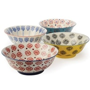 Signature Housewares 4 Piece Salad Bowl Set