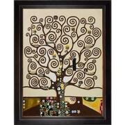 Wildon Home   Tree of Life Canvas Art by Gustav Klimt Modern - 54'' X 44''
