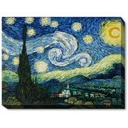 Wildon Home   Starry Night Canvas Art by Vincent Van Gogh Original Painting on Canvas