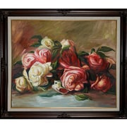 Wildon Home   Discarded Roses Canvas Art by Pierre Auguste Renoir Traditional - 31'' X 27''
