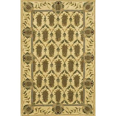 Chandra Verona Brown/Tan Area Rug; Runner 2'6'' x 7'6''