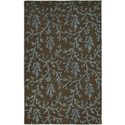 Safavieh Soho Brown/Light Blue Area Rug; 7'6'' x 9'6''