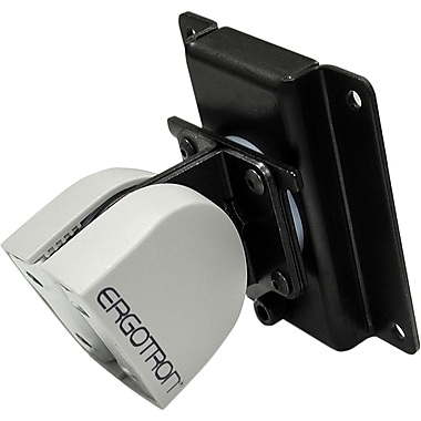 Ergotron® 47-092-800 100 Series Single Pivot, Black or Grey