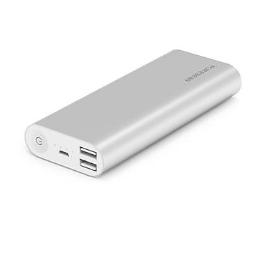PureJuice – Bloc-pile portatif, 16 000 mAh, argenté