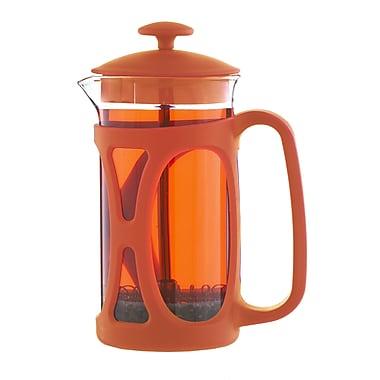 Grosche Basel French Press Coffee Maker, Orange, 350ml