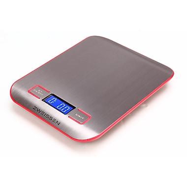 Zweissen – Balance de cuisine numérique Aprilia, rouge, 11 lb