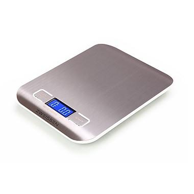 Zweissen – Balance de cuisine numérique Aprilia, blanc, 11 lb