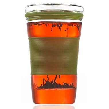 Grosche Infuz Infuser Tea Mug, Green, 350ml