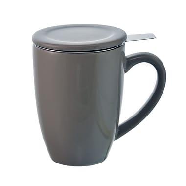 Grosche Kassel Infuser Tea Mug, Grey, 330ml