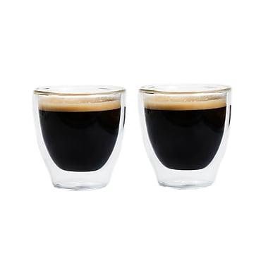 Grosche – Verres à espresso à double paroi Turino, 2 x 140 ml