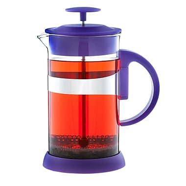Grosche Zurich French Press Coffee Maker, Purple, 1 Litre